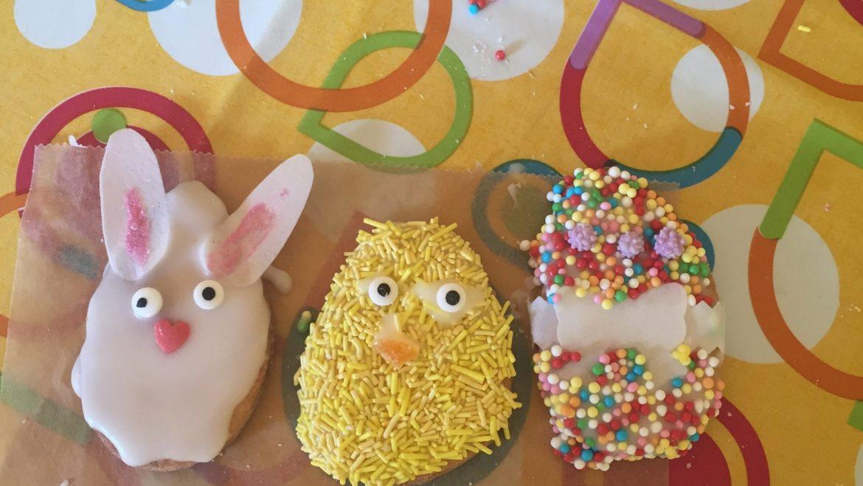 Decoriamo i biscotti di Pasqua!